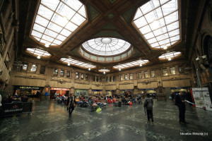 Dworzec Central Station Glasgow