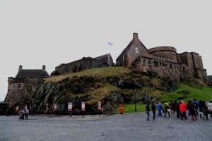 Zamek w środku.