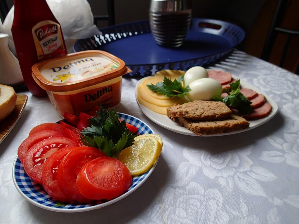 Pyszne śniadanko w Przystani - palce lizać.