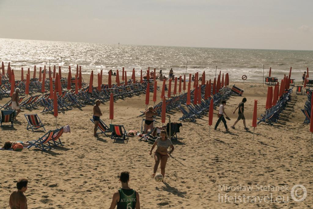 Plaża w Tirrenie.
