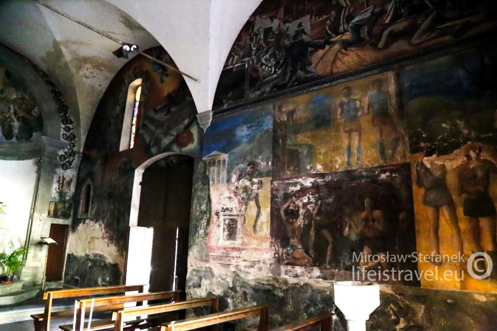 Zbudowany w 1528 kościółek pod wezwaniem św. Sebastiana - patrona od plag wszelakich... Podczas zarazy używany był jako szpital.