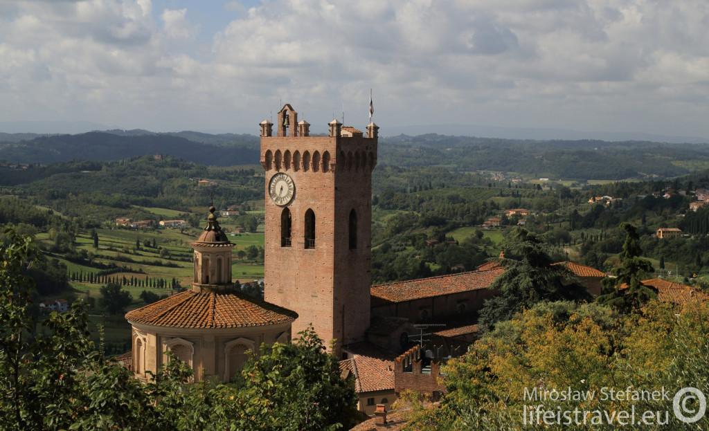 Panorama z wieży...