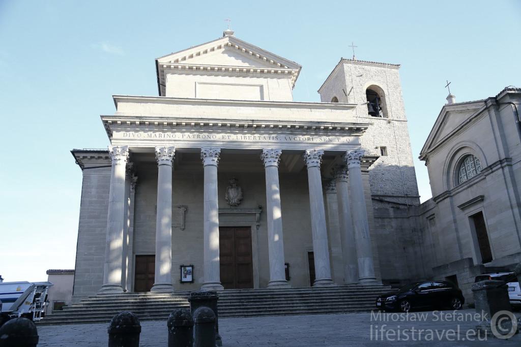 Basilica di san Marino.