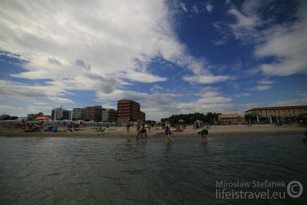Plaża w Rimini.