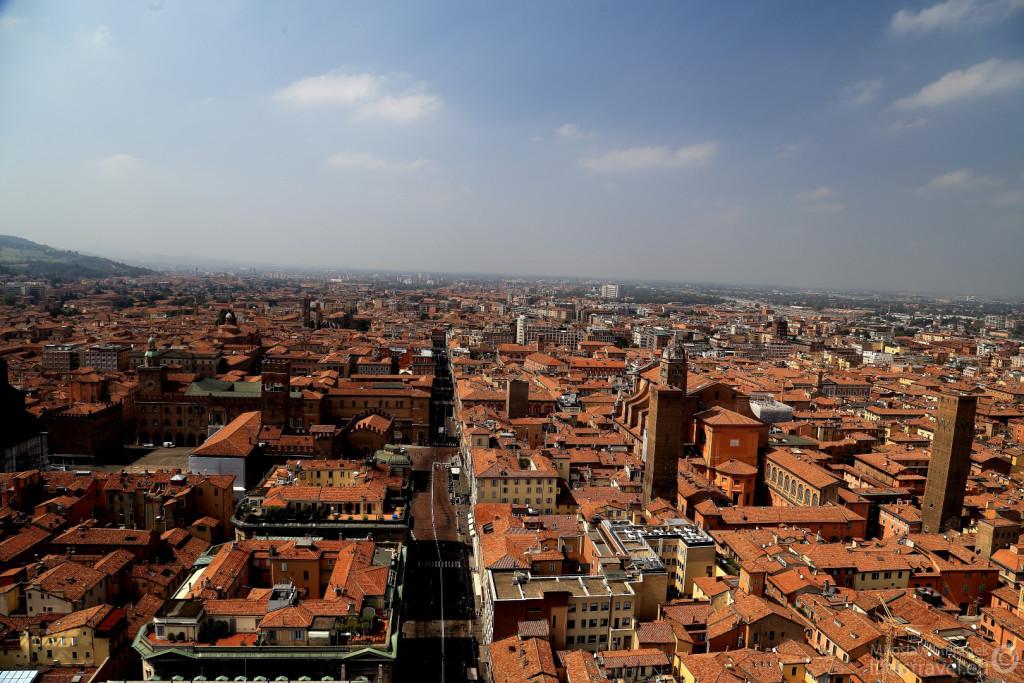 Bolonia - widok z Torre degli Asinelli.
