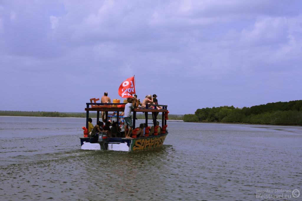 Sea safari.