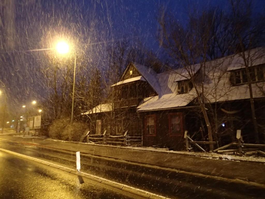Wiosenno - zimowe Zakopane.