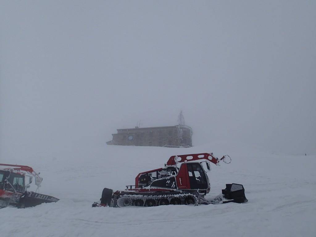Obserwatorium na Kasprowym.