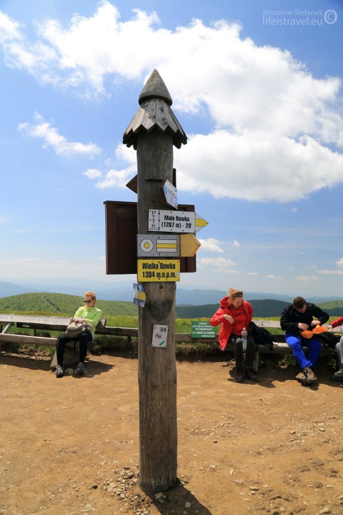 Wielka Rawka 1304 metry n.p.m.