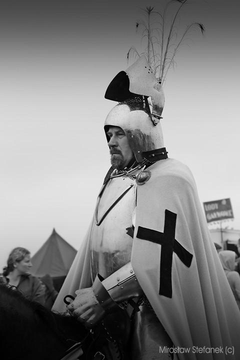 Wielki Mistrz Ulrich von Jungingen. Na tym polu bitewny spotkał swój kres.