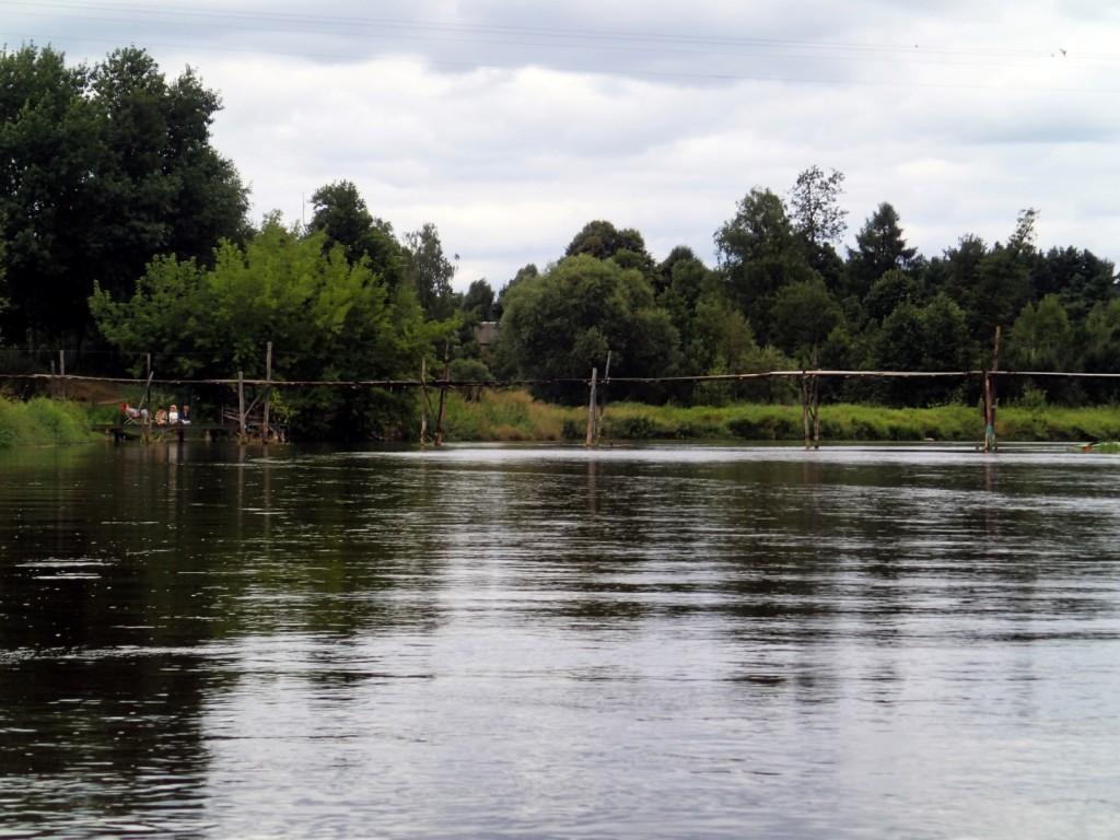 Słynny drewniany mostek w Trzech Morgach