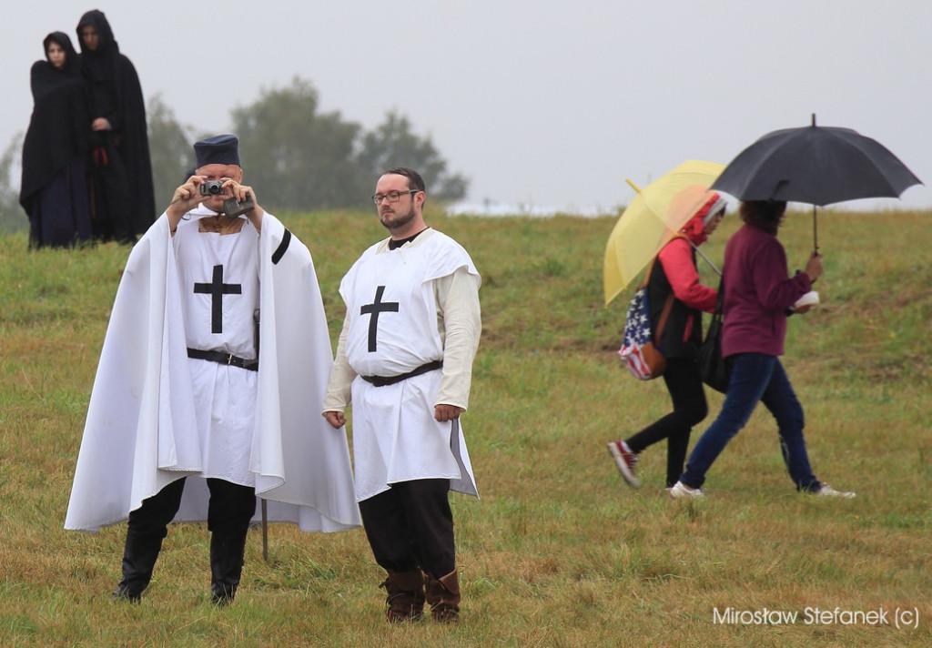 Nie zabrakło krzyżackich obserwatorów z ramienia... UE ;)