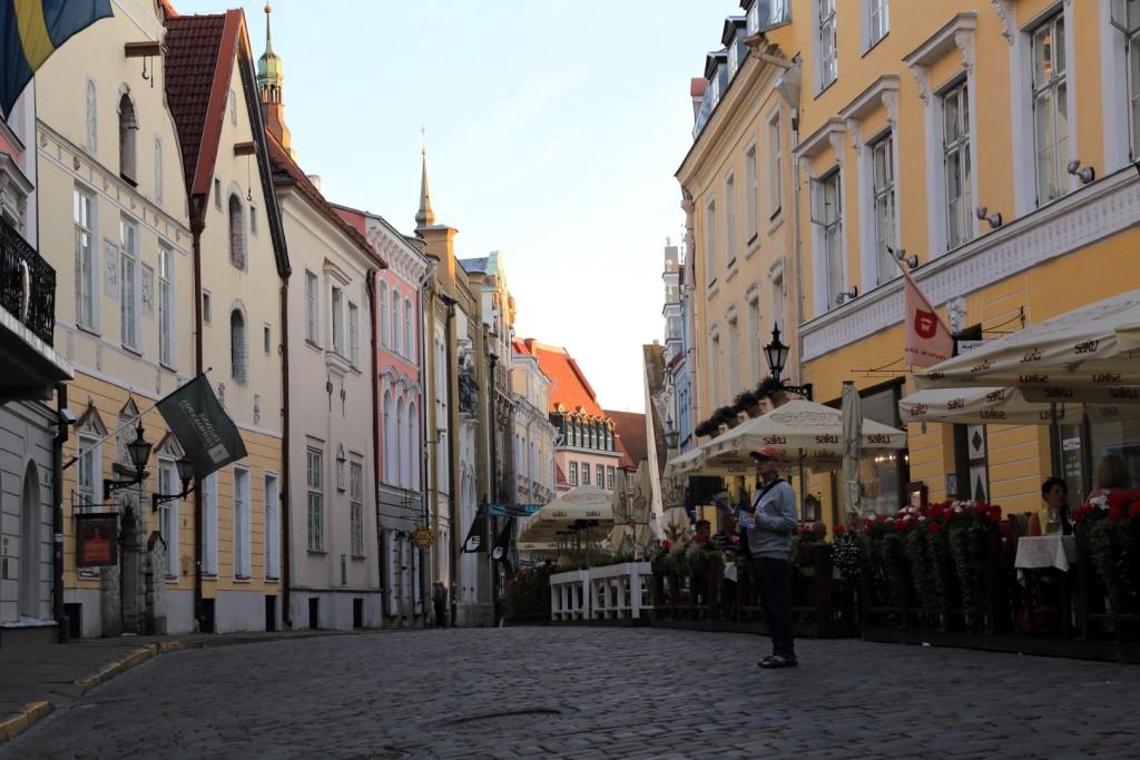 uliczki starego Tallina