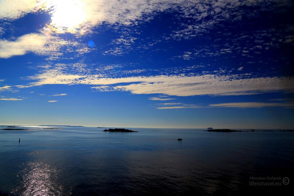 Helsinki od strony morza