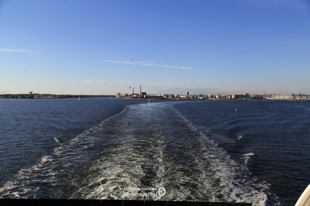 Helsinki z perspektywy morza