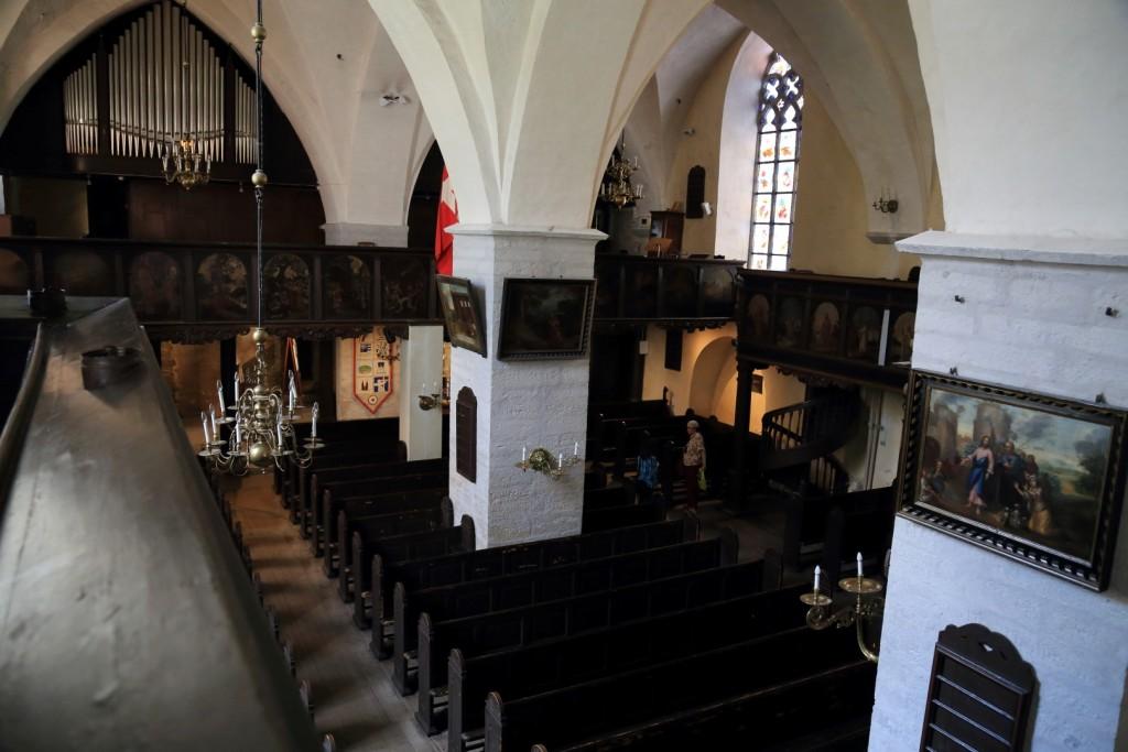 Kościół św. Ducha w środku