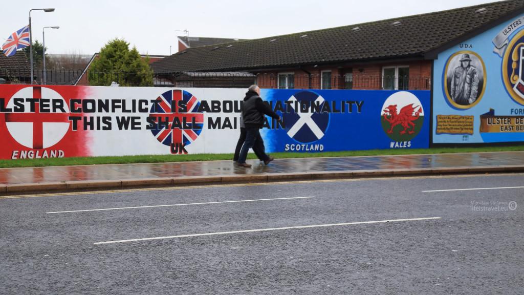 The Ulster conflict is about nationality. This we shall maintain... To właśnie wisi cały czas w powietrzu. Niby nieobecne, ale...