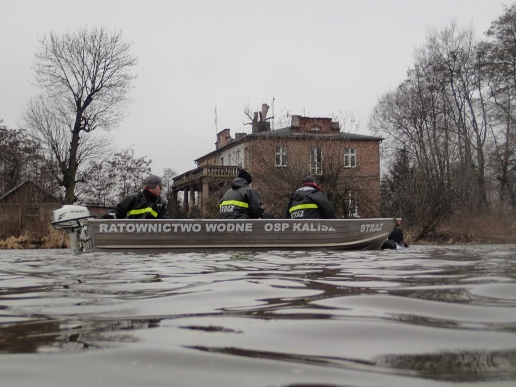 Tak jak napisałem, nad bezpieczeństwem spływu czuwali strażacy - należą im się WIELKIE podziękowania...