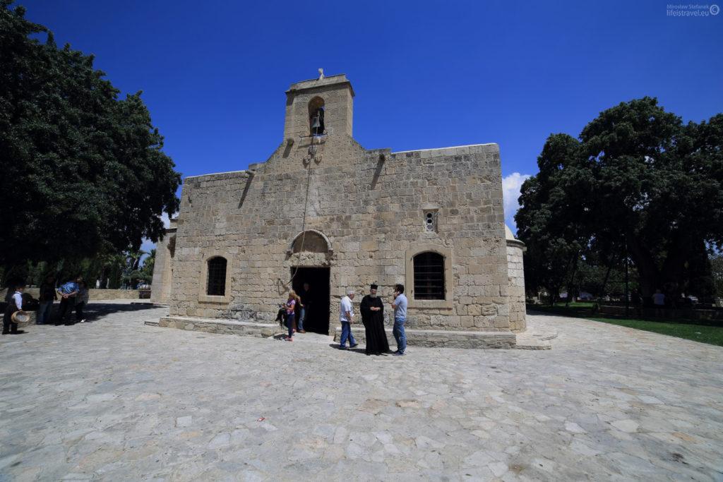 """Kościół Panagia Angeloktistos, co oznacza """"zbudowany przez anioły"""""""