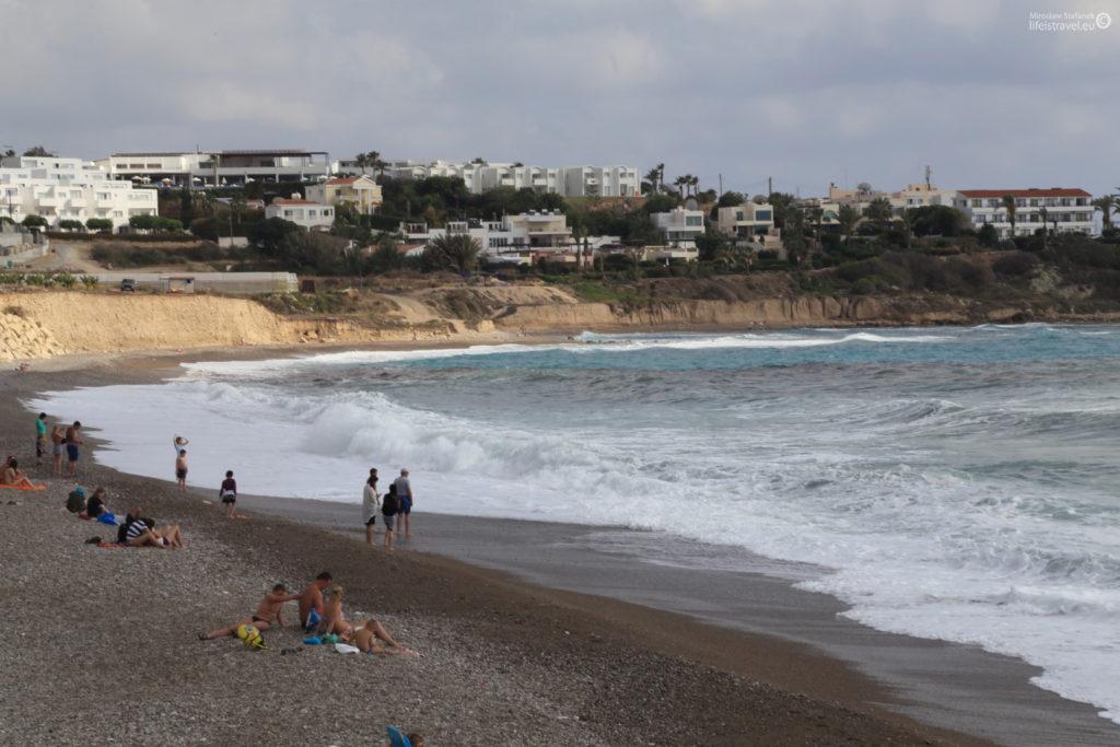 plaża z lewej