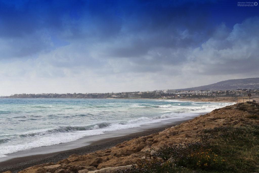 plaża z prawej