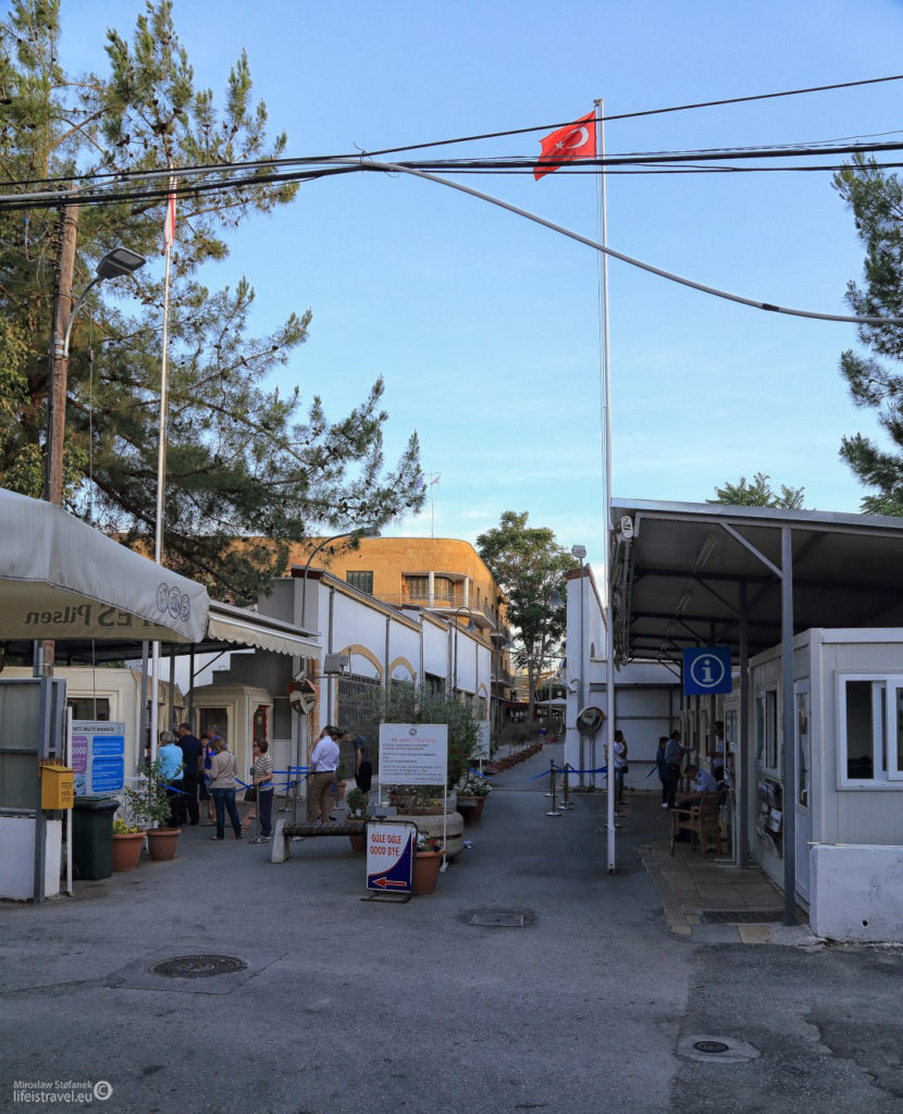 Granica po stronie tureckiej