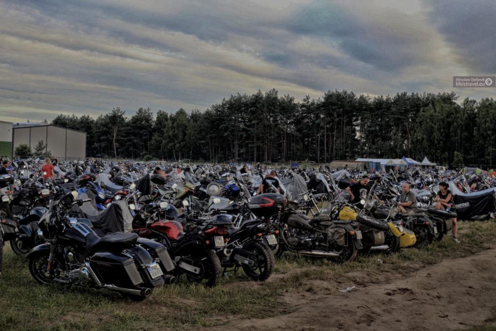 motocykli było prawie 3000 tys.