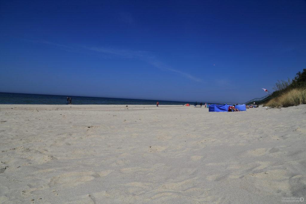 plaża jest przepiękna w tamtych okolicach...