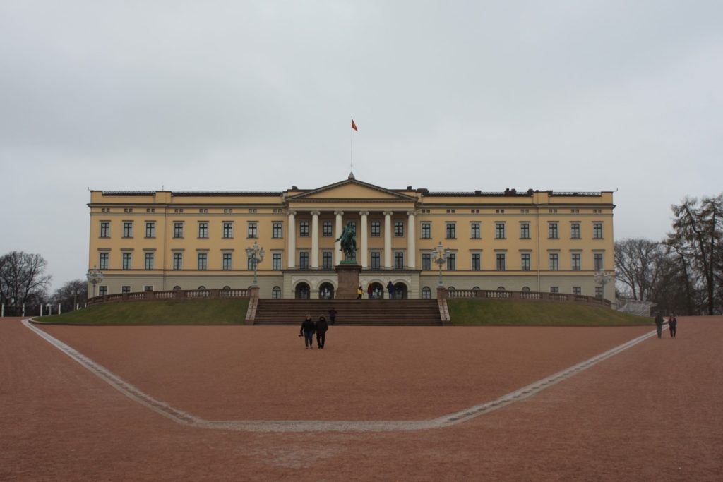 Pałac królewski.