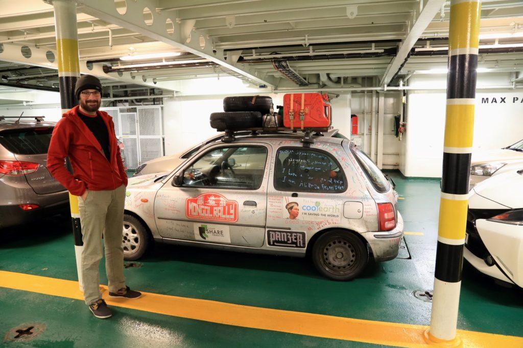 Tym autkiem do Azji i z powrotem...