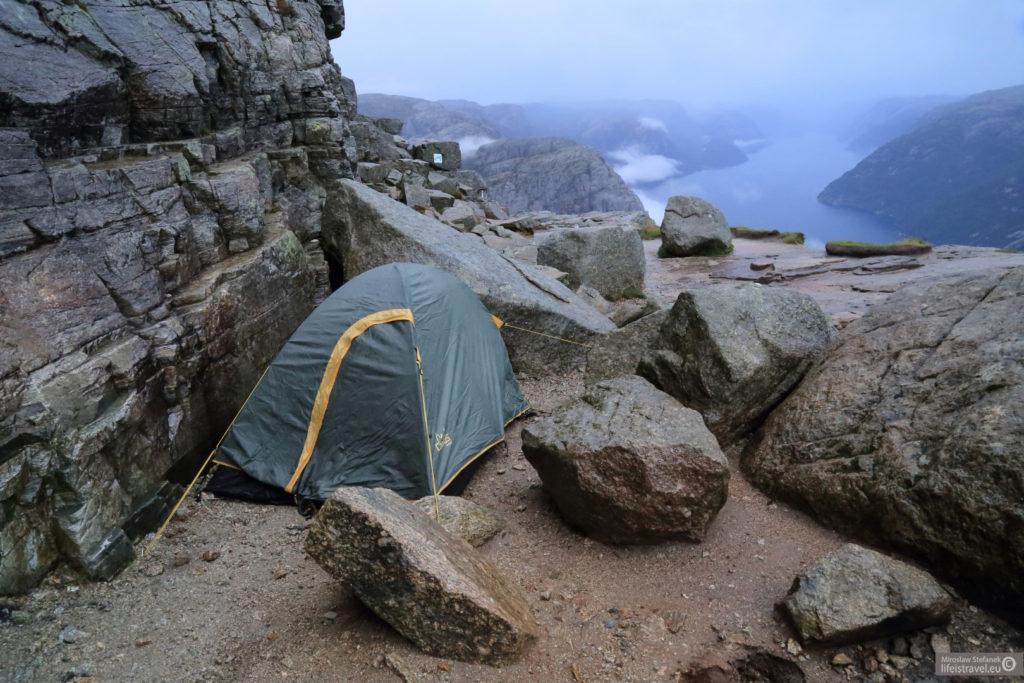Mój namiot.