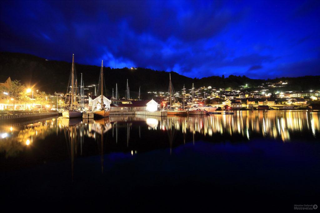 Port jachtowy.