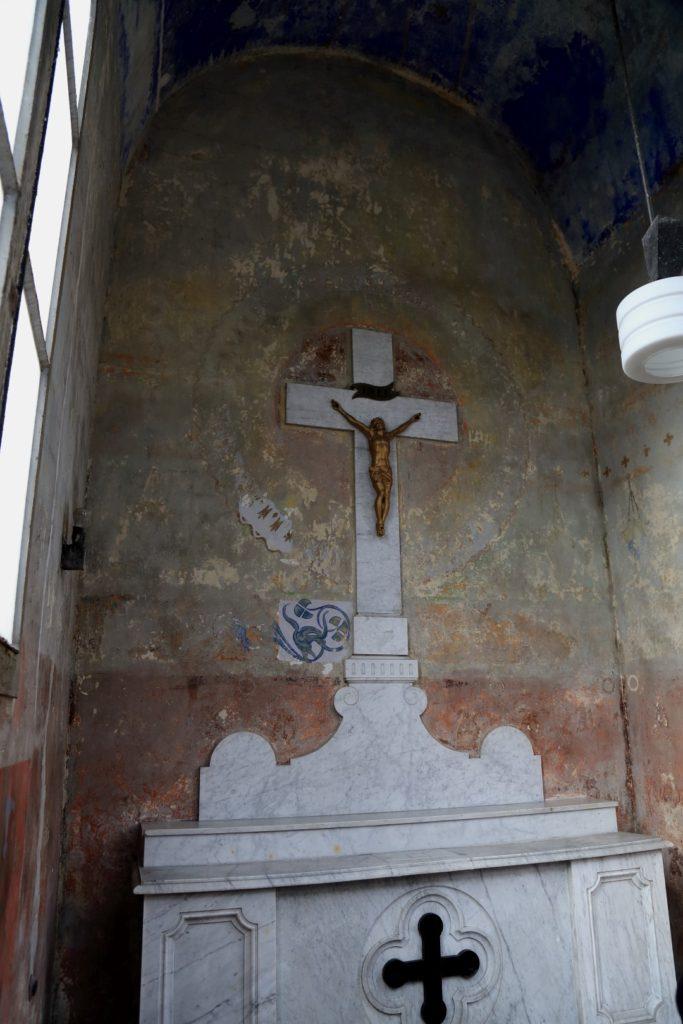 Kaplica Juttnerów w środku.