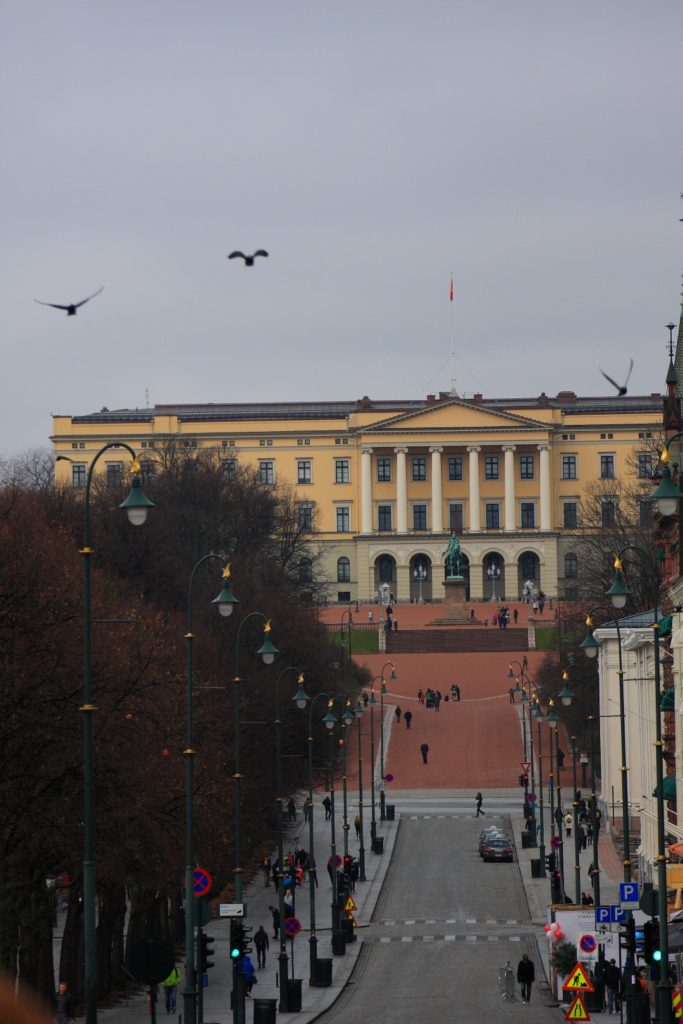 Pałac jest integralnym elementem miasta.